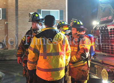 Audubon Court Apartment Fire