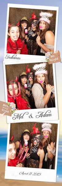 Mel & Adam Photostrips