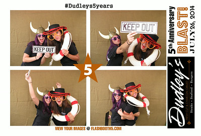 Dudleys 5th Photo Booth