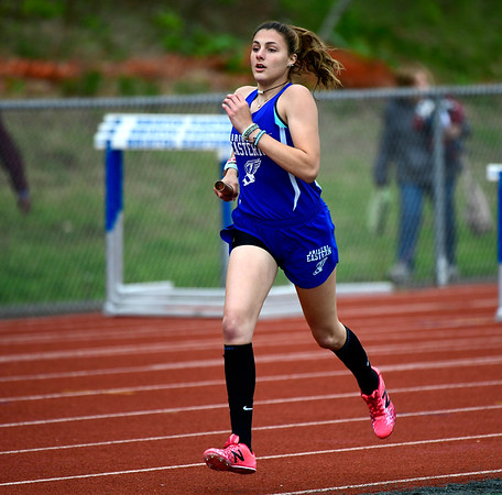 5/14/2019 Mike Orazzi | Staff Bristol Eastern's Avery Braccia during Tuesday's city track meet at Eastern.