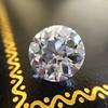 3.69ct Old European Cut Diamond GIA E VS2 5