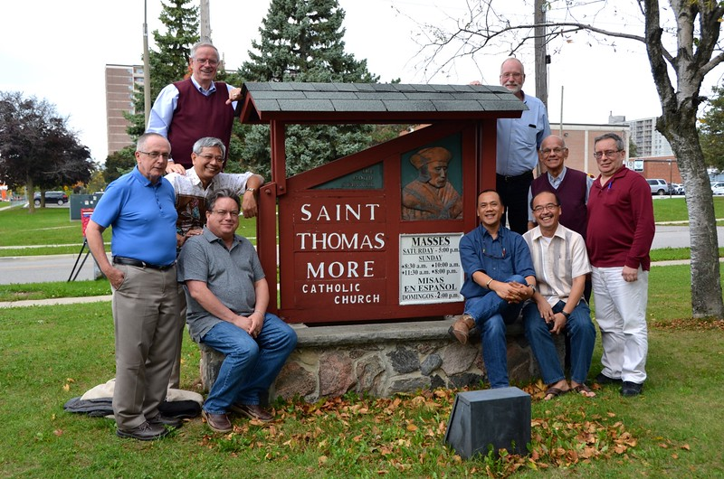 The administrations of the US and Canada met at St. Thomas More parish in Scarborough (suburban Toronto).