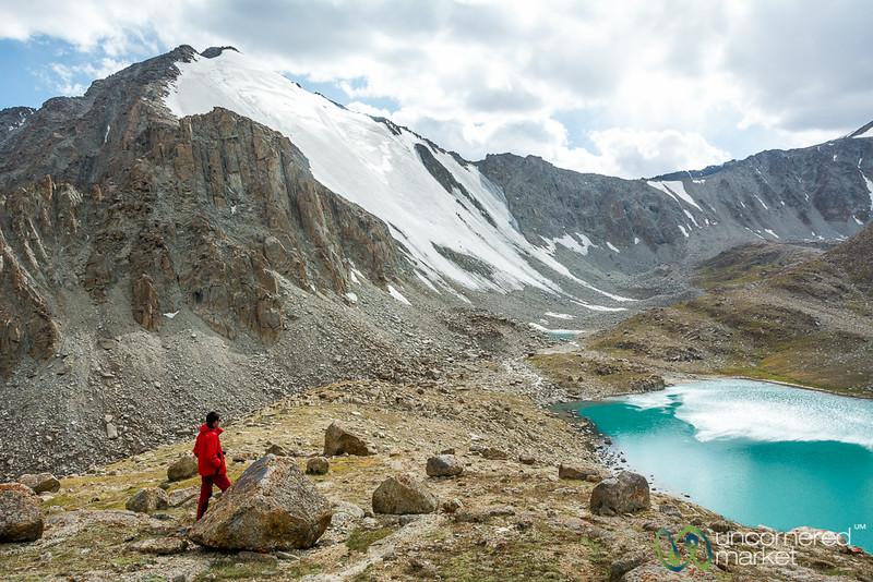 On the Way Down, Koshkol Lakes Trek - Alay Mountains, Kyrgyzstan