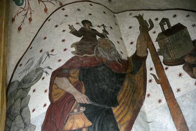 Eglise St.Martin (Fresques - Fin XVIème)