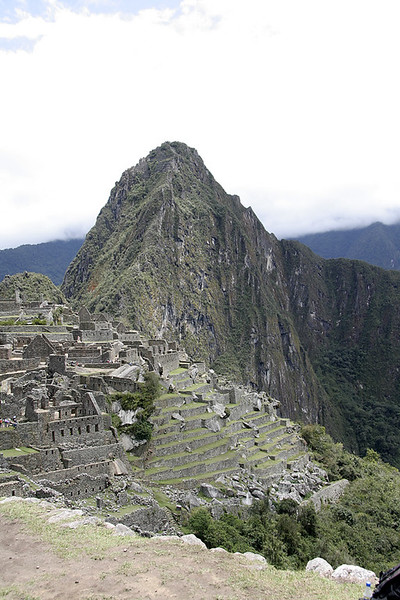 One of my first views of Machu Picchu.
