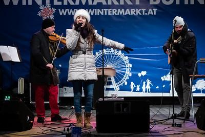 Ronja & Pavel & Bokica @ Wintermarkt 2018