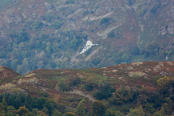 Vulcan Bomber Farewell Flight