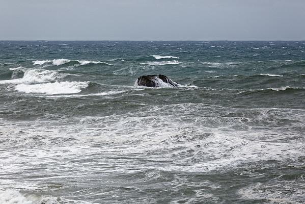 Biarritz - La tempête