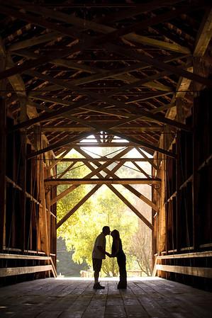 Noel and Marin - Engagement Photography, Felton, California