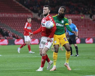 Middlesbrough vs Preston North End