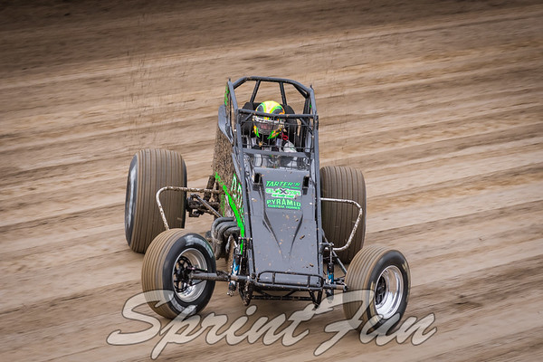 2018 4 Crown Nationals - USAC Sprints, Midgets, Silver Crown