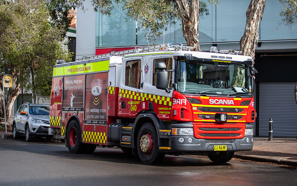FRNSW - ME213 - Scania CAFS Pumper by Kuipers