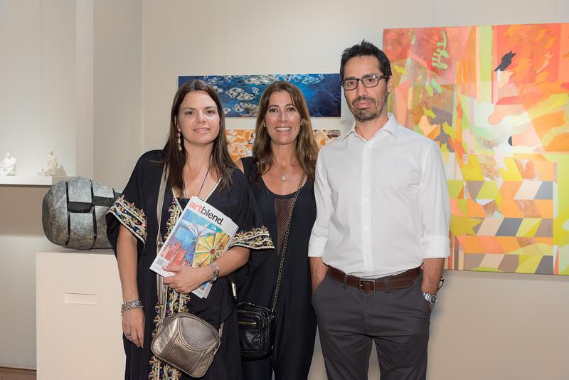 Verónica Pellegrini, Silvana Timó, Juan Cruz Gómez Oromi