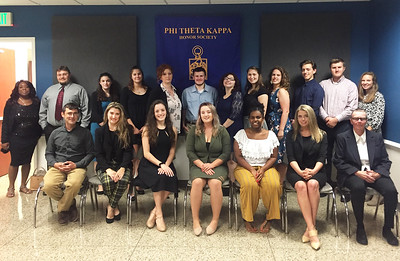 Phi Theta Kappa- Rho Beta Chapter Induction Ceremony Fall 2018