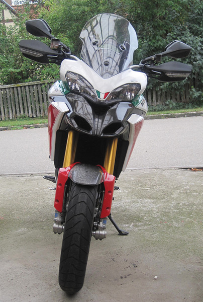 1/7: Multistrada 1200 Tricolore / Trikolore from www.italienische-motorraeder.de