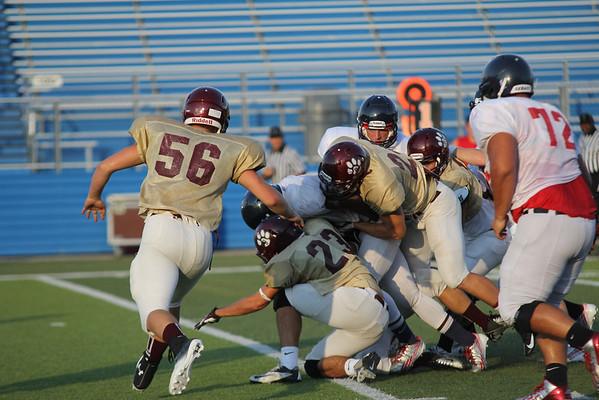 2013-08-23 Freshman-JV- Varsity Georgetown Scrimmage