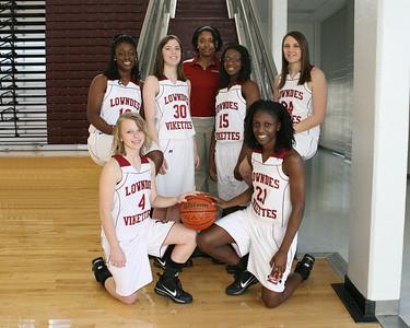 2009 - 2010 Lowndes Basketball Seniors