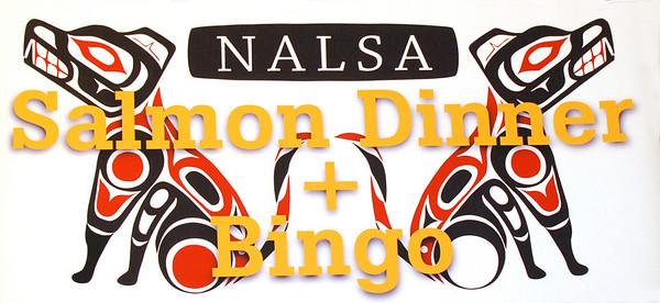 NALSA-UW Salmon Dinner + Bingo, March 2008