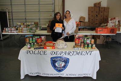 Police Services Thanksgiving for Kids