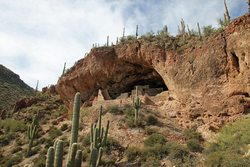 Tonto National Monument - Cliff dwelling