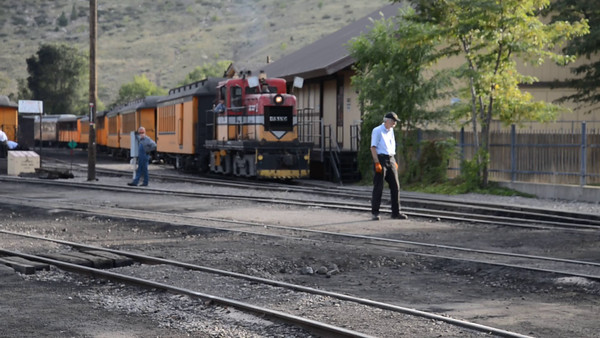 Durango & Silverton Railroad - video