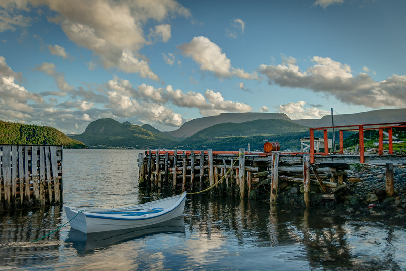 Woody Point, Newfoundland 2012 - 16x24, $195