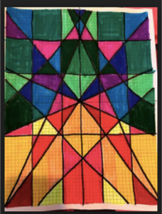 Algebra 1 Stained Glass Project