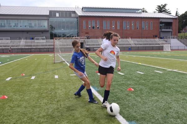 2019: Girls Soccer Camp