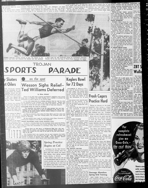 Daily Trojan, Vol. 33, No. 84, January 10, 1942