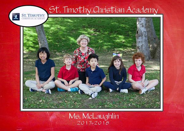 St. Timothy Christian School - 2017-2018