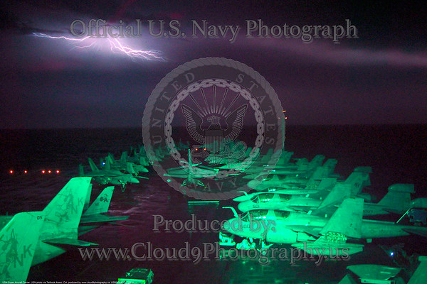 U.S. Navy Lightning Strike Aircraft Carrier Pictures