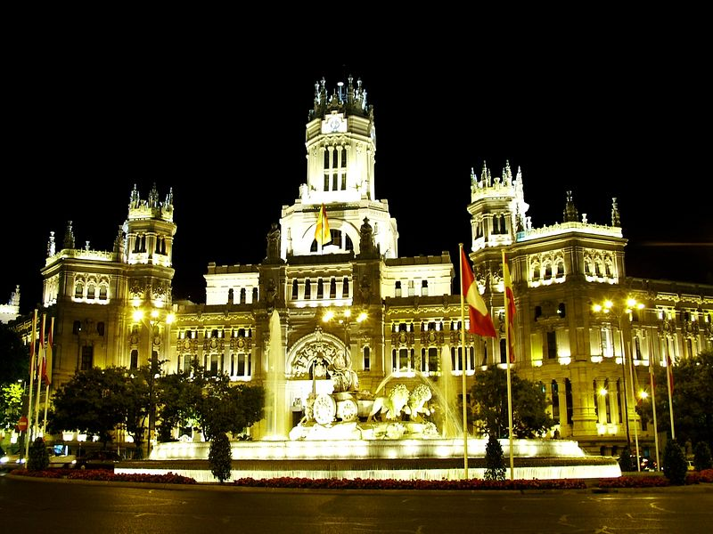 Madrid fountain