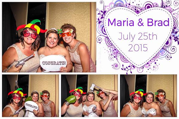 Maria & Brad Wedding Photo Booth