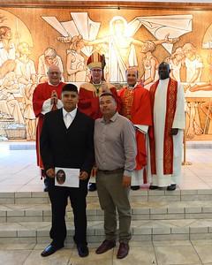 Confirmation 2017 Bishop