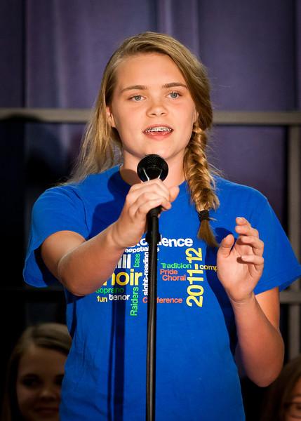 Parkhill Choir Awards 2012