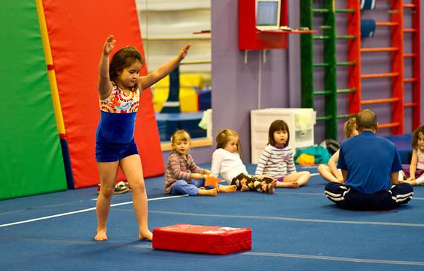 Zoe's Gymnastics Practice - 20120204