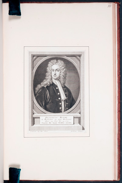 To the Right Honourable and my Noble Patron Edward Earl of Oxford, And Earl Mortimer, &c.&c. A collection of the works of G. Vertue of London, Engraver, the first chosen proofs from the engraved plates, Begining in the Year 1708, vol. 2