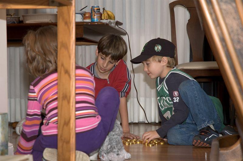 The kids play dreidel   (Nov 26, 2004, 04:28pm)