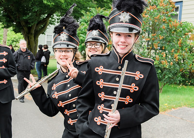 Blaine Marching Band