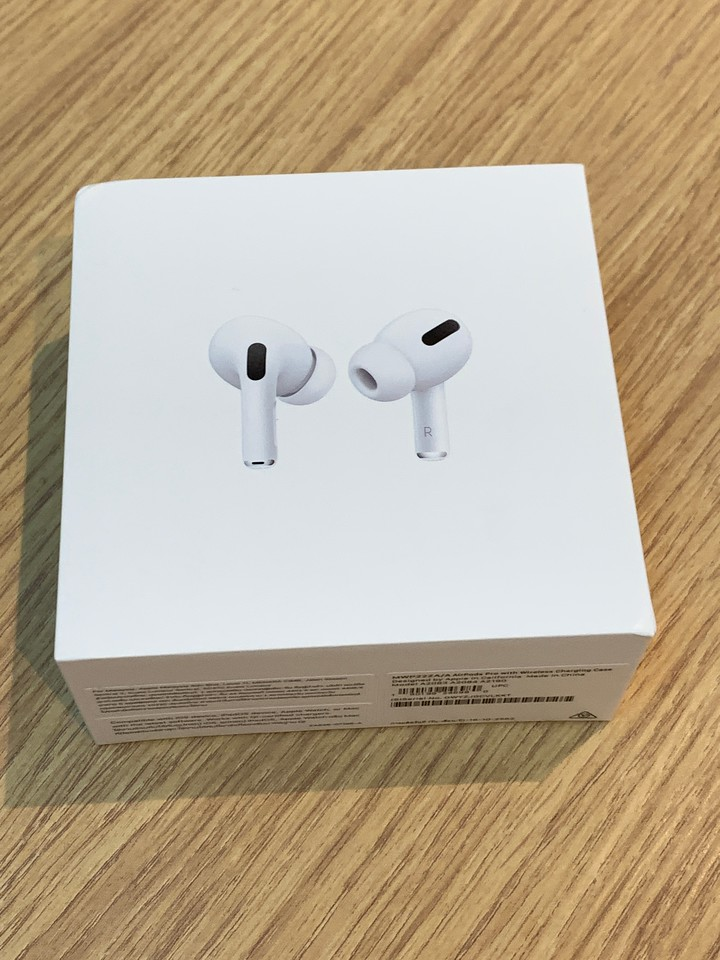 AirPods Pro with Wireless Charging Case Front of the Box