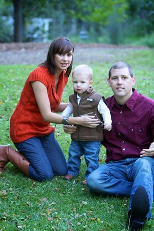 Kristina & Brady Family Portraits