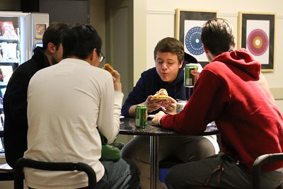 International Student Pizza Party
