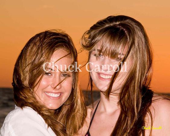 Amy & Kira  --  Bikini Beach Portraits - Anna Maria Island  April 9. 2009