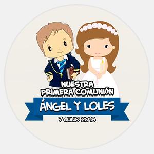 Comunión Ángel & Loles