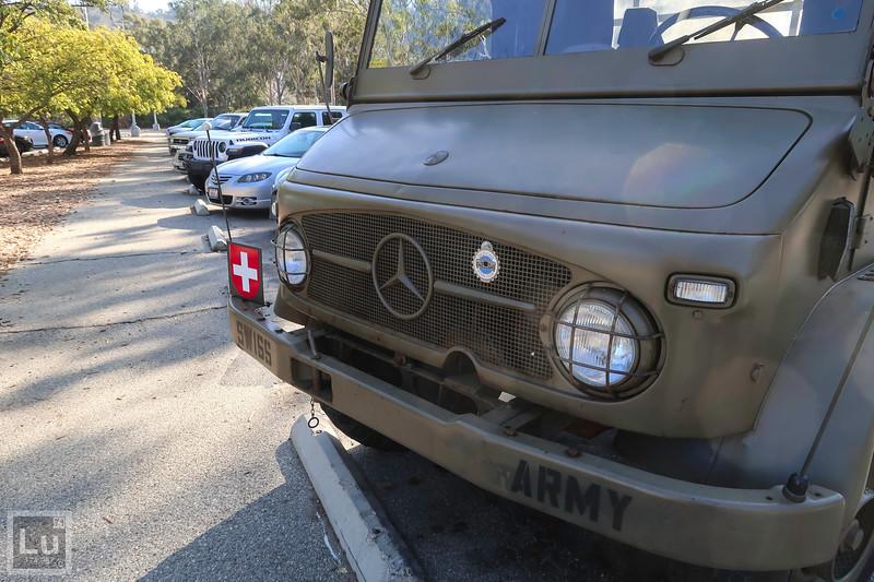 Mercedes-Benz Unimog 404 Swiss Army Troop Carrier