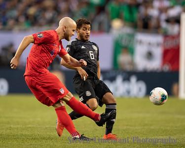 USA v Mexico Concacaf Gold Cup 7-7-2019