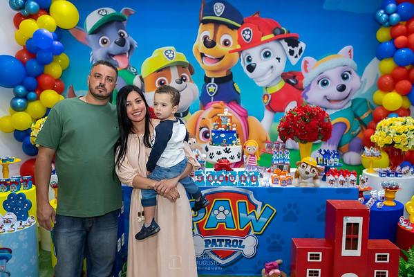 Festa da Patrulha Canina do Samuel no Espaço Algazarra Kids