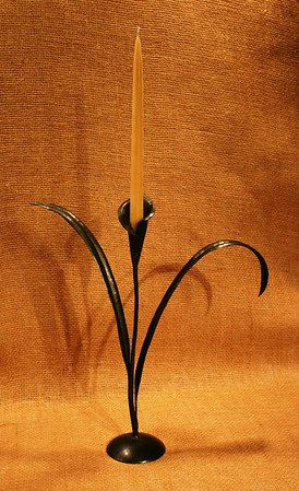 Calla Lily Taper Candle Holder