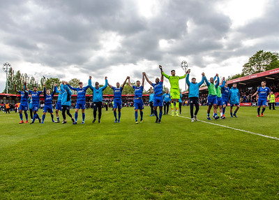 Salford vs Eastleigh Play Off Semi Final