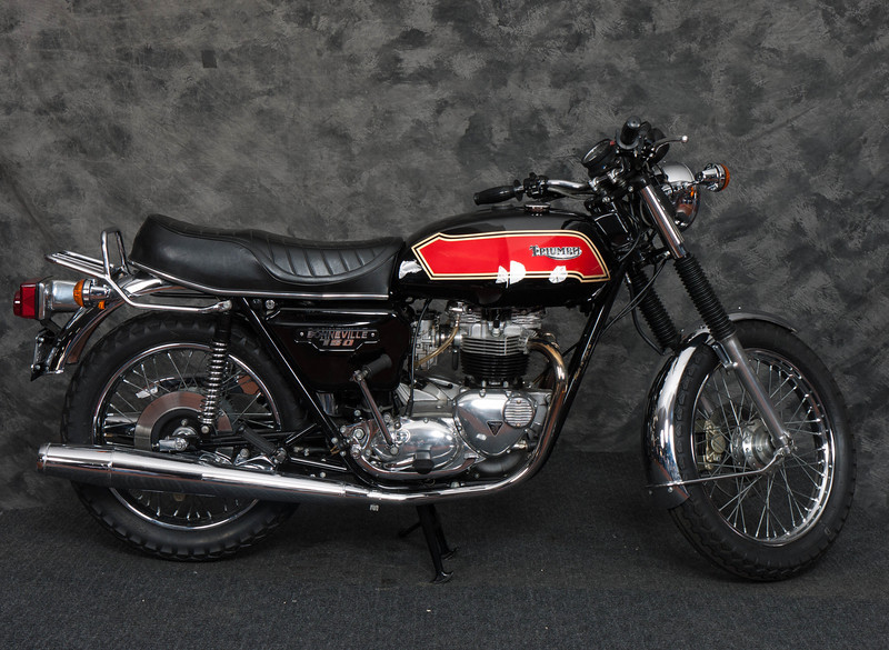 The 2013 Clubman's All British Motorcycle Show raffle bike, won by Jeff Green.